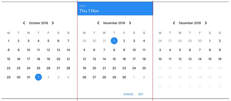 It's actually 3 calendars!